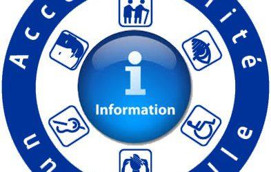 Accessibilité universelle à l'information : Le constat…